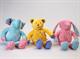 """Детские товары Киев. Детские игрушки.Мягкие игрушки. LINDO Набор из трех мягких игрушек """"Золотая коллекция"""""""