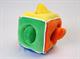 """Детские товары Киев. Детские игрушки.Настольные, развитие. LINDO Мягкая развивающая игрушка """"Кубик с фигурами"""""""