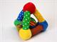 """Детские товары Киев. Детские игрушки.Настольные, развитие. LINDO Мягкая развивающая игрушка """"Чудесный треугольник"""""""