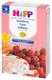 Детские товары Киев. Детское питание.Каши молочные. HIPP «Клубника» Молочная пшеничная каша с пробиотиками 250гр