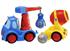 Детские игрушки Киев.Игровые наборы. CHICCO Набор: машинка-кран + бетономешалка