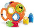 """Детские товары Киев. Детские игрушки Киев.Игрушки для купания. CHICCO Игрушка для ванной """"Мерцающая рыбка"""""""