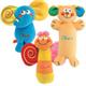 Детские товары Киев. Детские игрушки.Подвесные на кроватку. CHICCO Мягкие подвесные погремушки на прогулочную коляску