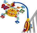 Детские товары Киев. Детские игрушки Киев.Подвесные на кроватку. CHICCO Игрушка подвесная на кроватку, музыкальная «Тигр»