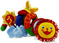 Детские товары Киев. Детские игрушки Киев.Подвесные на коляску. CHICCO Подвеска для прогулочной коляски Веселые джунгли