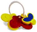 """Детские товары Киев. Детские игрушки Киев.Мягкие игрушки-грызуны. CHICCO Погремушка """"Бабочки"""", муз."""