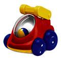 Детские товары Киев. Детские игрушки Киев.Погремушки-шелестелки. CHICCO Детская машинка - Пожарные