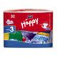 Детские товары Киев. Гигиена.Подгузники. подгузники HAPPY Midi 3 (5-9кг), 32шт
