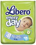 Детские товары Киев. Гигиена Киев.Подгузники. подгузники Libero Everyday Extra large 38 (11-25 кг)