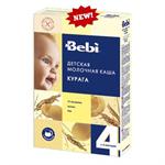Детские товары Киев. Детское питание Киев.Каши молочные. BEBI Молочная каша с курагой 250гр