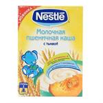 Детские товары Киев. Детское питание Киев.Каши молочные. NESTLE Пшеничная молочная каша с тыквой 250гр