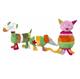 Детские товары Киев. ANNA CLUB Киев. ANNA CLUB Разноцветные зверюшки: кот, собака, мышь 46см