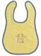 Детские товары Киев. Аксессуары.Нагрудники. BEBE-JOU Нагрудник Velcro (желтый)