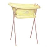 Детские товары Киев. Купание Киев.Детские ванночки. BEBE-JOU Подставка для ванн 98см металл (желтый)
