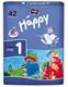 Детские товары Киев. Гигиена.Подгузники. подгузники HAPPY New Born 1 (вес 2-5кг), 42шт