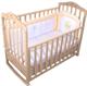 Детские товары Киев. Детская мебель.Мебель для детской. детская кроватка Верес Соня ЛД-5 с ящиком (слоновая кость)