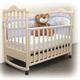 Детские товары Киев. Детская мебель.Мебель для детской. детская кроватка Верес Соня ЛД-8 с ящиком (слоновая кость)