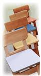 Детские товары Киев. Детская мебель Киев.Мебель для детской. детский стульчик Верес (дерево) h-300