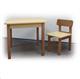 Детские товары Киев. Детская мебель.Мебель для детской. детский столик Верес (дерево\ДСП) h-600