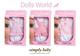 Детские товары Киев. Детские игрушки.Игрушки для девочек. Dolls World Платье для пупса SimplyBaby, 3 ассорт.