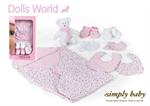Детские товары Киев. Детские игрушки Киев. Dolls World Одежда  для новорожденного SimplyBaby