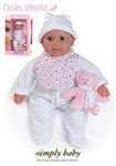 Детские товары Киев. Детские игрушки Киев. Dolls World Пупс SimplyBaby, 2 ассорт.