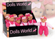 """Детские товары Киев. Детские игрушки. Dolls World Пупс """"Эви"""", 23см, 2 в ассорт."""