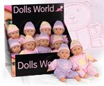 Детские товары Киев. Детские игрушки Киев. Dolls World Пупс, 25см,  2 в ассорт.
