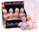Детские товары Киев. Детские игрушки.Игрушки для девочек. Dolls World Пупс, 25см,  2 в ассорт.