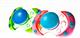 """Детские товары Киев. Аксессуары.Пустышки. NUBY Пустышка """"SOFT EDGE"""", форма """"Анатомическая"""", 0+"""