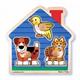 Детские товары Киев. Детские игрушки.Пазлы. Melissa & Doug Домашние животные - формовой пазл