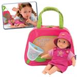 Детские товары Киев. Детские игрушки Киев.Игрушки для девочек. CHICCO Кукла в сумке (розовая)