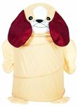 Детские товары Киев. Детские игрушки Киев.Бочки и корзины для игрушек. Bruno Bear Бочка для игрушек - Пёсик, 46х75см