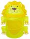 Детские товары Киев. DEVIK play joy Киев. Bruno Bear  Бочка для игрушек - Львенок, 46х75см