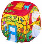 Детские товары Киев. Детские игрушки Киев.Домики и палатки самораскладные. Bruno Bear  Волшебный домик с корзинами для мячей, 90х90х100см