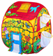 Детские товары Киев. DEVIK play joy Киев. Bruno Bear  Волшебный домик с корзинами для мячей, 90х90х100см