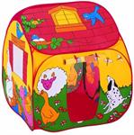 Детские товары Киев. Детские игрушки Киев.Домики и палатки самораскладные. Bruno Bear  Волшебный самораскладной домик (тент), 90х90х100см