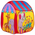 Детские товары Киев. Детские игрушки Киев.Домики и палатки самораскладные. Bruno Bear Волшебный цирк-шапито (тент), 90х90х100см