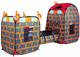 """Детские товары Киев. Детские игрушки.Домики и палатки самораскладные. Bruno Bear  3-в-1 самораскладной супернабор """"Крепость"""""""