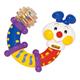 Детские товары Киев. Детские игрушки.Мягкие игрушки-грызуны. K'S KIDS Гусеничка-трансформер