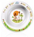 Детские товары Киев. Аксессуары Киев.Посуда. AVENT Глубокая маленькая тарелка от 6мес.