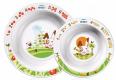 Детские товары Киев. Аксессуары Киев.Посуда. AVENT 2 глубокие тарелки большая и маленькая от 6 мес. большая и маленькая