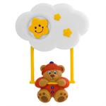 """Детские товары Киев. Детские игрушки Киев.Подвесные на кроватку. CHICCO Подвесная игрушка на кроватку """"Медвежонок на качелях"""""""
